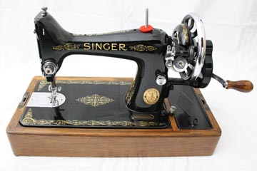 99K Singer Hand Crank Sewing Machine