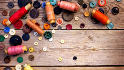 wallpaper 3840x2160 thread ussr buttons sewing wood background 4k ultra hd hd background