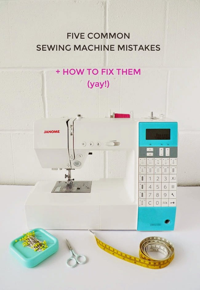 Top 40 Mistakes Which Beginners Make In Using Sewing Machines Simple Highest Rated Sewing Machine 2015