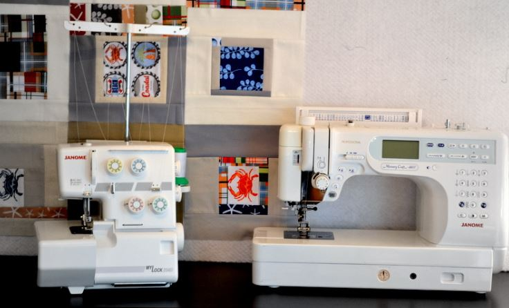 Difference Between Sergers and Sewing Machines