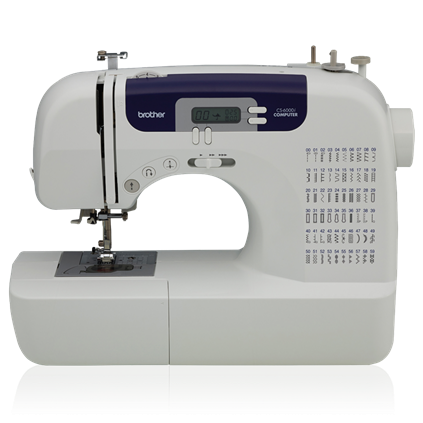 Front of CS6000I Sewing Machine