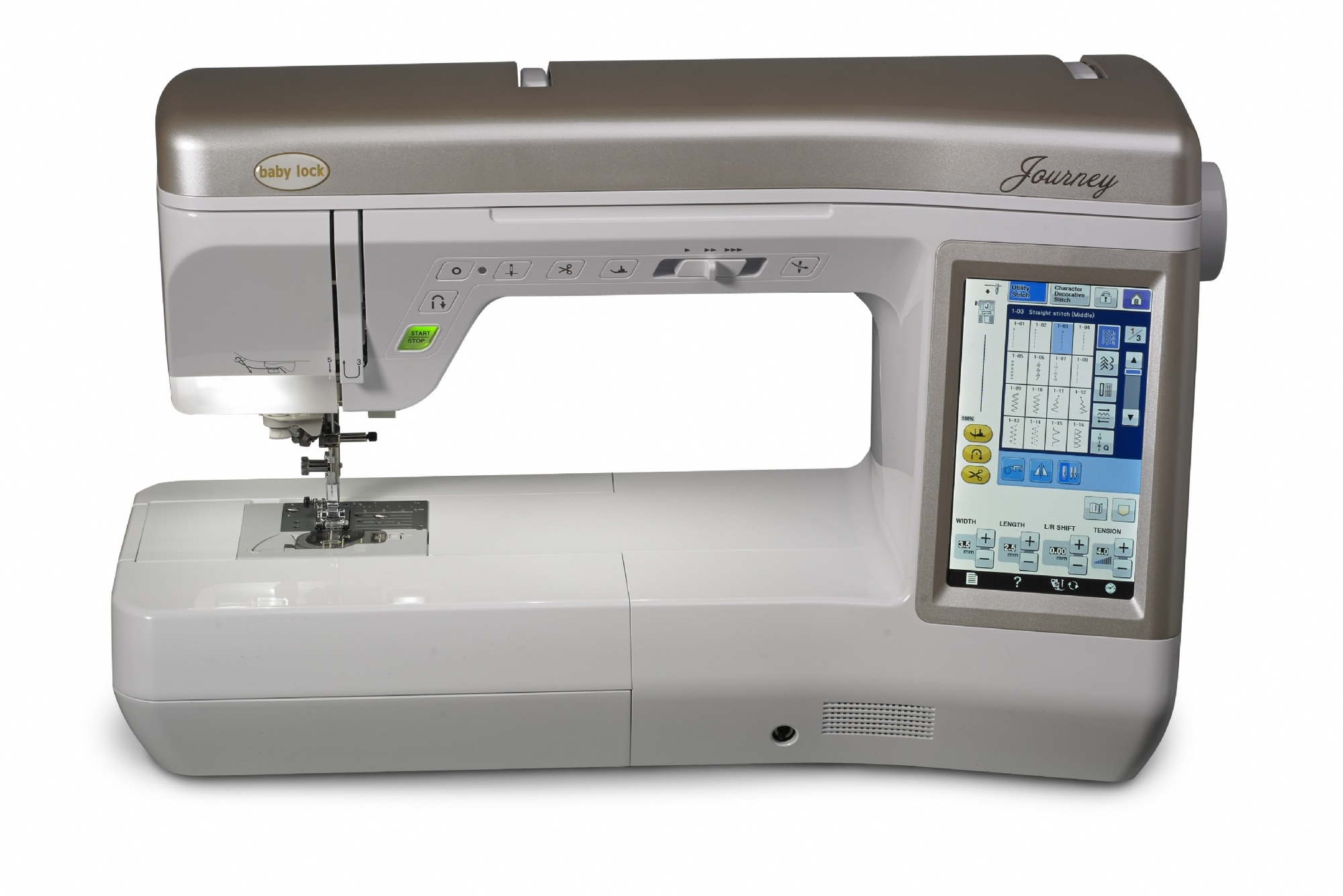 Journey Baby Lock Embroidery Machine